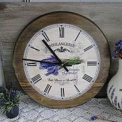 Для дома и интерьера ручной работы. Ярмарка Мастеров - ручная работа Часы настенные 38 см. Handmade.