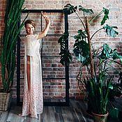 Свадебный салон ручной работы. Ярмарка Мастеров - ручная работа Шёлковое будуарное платье. Handmade.
