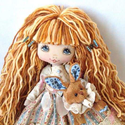Ароматизированные куклы ручной работы. Ярмарка Мастеров - ручная работа. Купить Настенька. Handmade. Коллекционная кукла, текстильная кукла