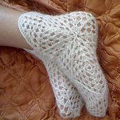 Аксессуары ручной работы. Ярмарка Мастеров - ручная работа ажурные носочки. Handmade.