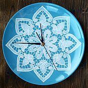 """Часы ручной работы. Ярмарка Мастеров - ручная работа Часы """"Зимнее утро"""". Handmade."""