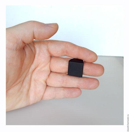 Кольца ручной работы. Ярмарка Мастеров - ручная работа. Купить Перстень из черного дерева ( на заказ ). Handmade. Черный