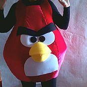 Одежда ручной работы. Ярмарка Мастеров - ручная работа Сердитая птичка, красная. Handmade.