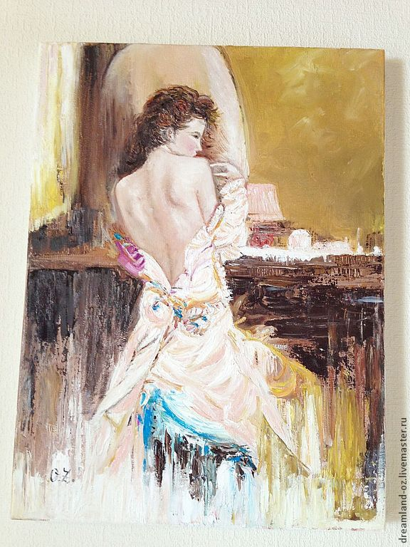 Oil painting After the ball, Pictures, Vladivostok,  Фото №1