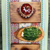Для дома и интерьера ручной работы. Ярмарка Мастеров - ручная работа Доска сервировочная. Handmade.