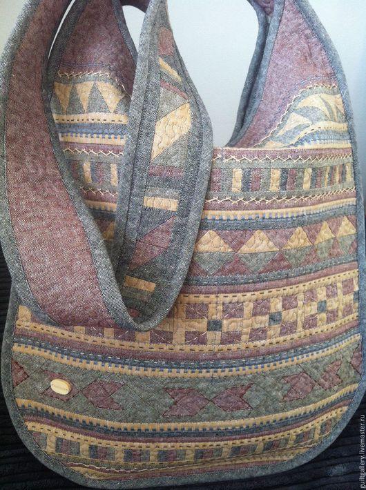 """Женские сумки ручной работы. Ярмарка Мастеров - ручная работа. Купить """" Покахонтас"""" лоскутная сумка. Handmade. Комбинированный"""