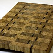 Для дома и интерьера handmade. Livemaster - original item End cutting Board №52. Handmade.