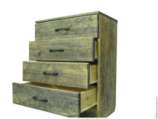 """Мебель ручной работы. Ярмарка Мастеров - ручная работа. Купить Комод """"Ранчо"""". Handmade. Коричневый, для дачи, кантри, мебель из дерева"""