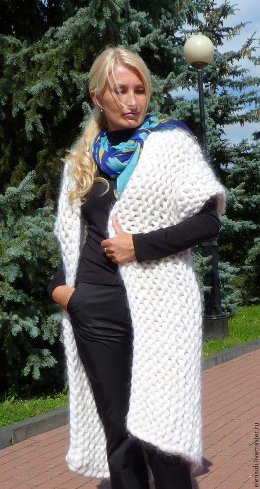 Кофты и свитера ручной работы. Ярмарка Мастеров - ручная работа. Купить Кардиган CTIL GRAD CITI из толстой пряжи. Handmade.