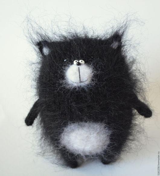 Игрушки животные, ручной работы. Ярмарка Мастеров - ручная работа. Купить Кот Шмяк вязаная игрушка кот амигуруми. Handmade.
