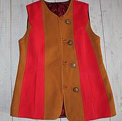 Одежда ручной работы. Ярмарка Мастеров - ручная работа жилетка. Handmade.