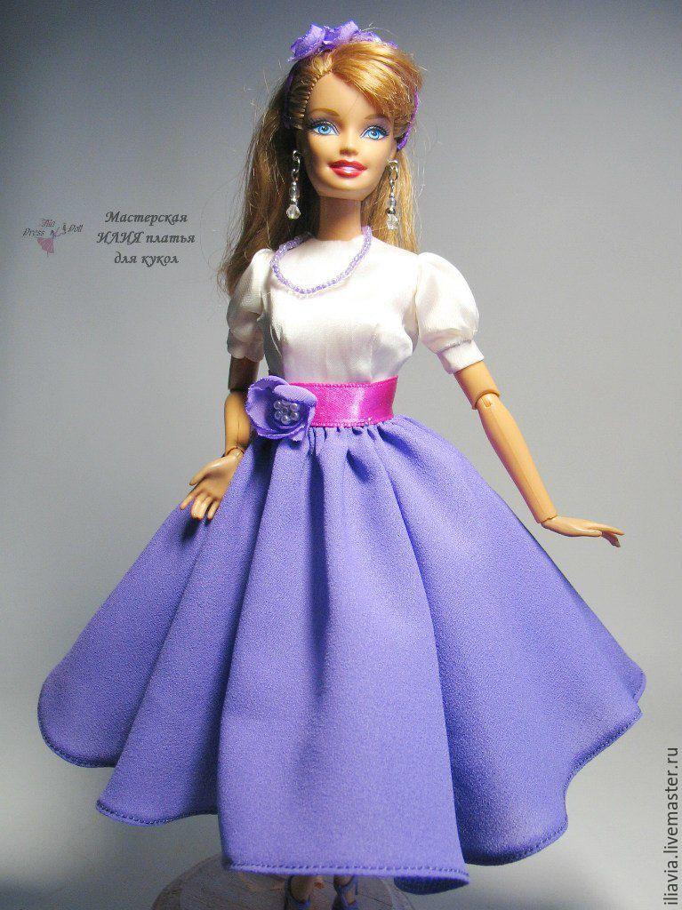 Как сделать куклу барби из ткани своими руками