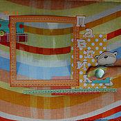 """Канцелярские товары ручной работы. Ярмарка Мастеров - ручная работа Альбом для малыша """"Рыжий мишка"""". Handmade."""