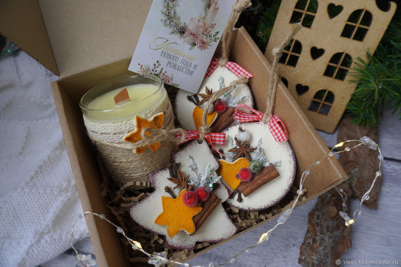 Ароматный новогодний набор, Новогодние сувениры, Майкоп,  Фото №1