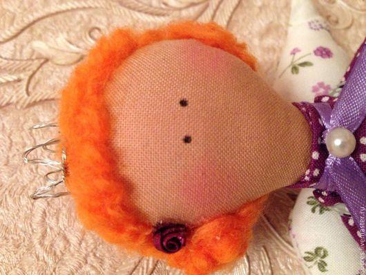 Куклы Тильды ручной работы. Ярмарка Мастеров - ручная работа. Купить Сьюзи. Handmade. Фиолетовый, тильда, хлопок 100%