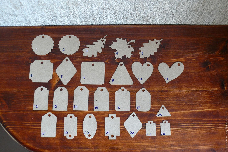 Tag cardboard, Customized Gifts handmade, Krasnodar, Фото №1