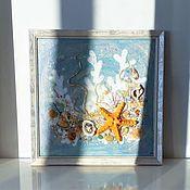 handmade. Livemaster - original item Panel of WHITE CORALS. Handmade.