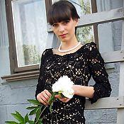 Одежда ручной работы. Ярмарка Мастеров - ручная работа Маленькое черное платье 2. Handmade.