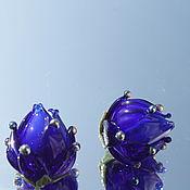 """Материалы для творчества ручной работы. Ярмарка Мастеров - ручная работа Бусинки  лэмпворк  """"Бутоны"""". Handmade."""
