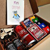 Подарки к праздникам ручной работы. Ярмарка Мастеров - ручная работа Мужской набор в коробке 2. Handmade.