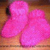 Работы для детей, ручной работы. Ярмарка Мастеров - ручная работа носочки детские. Handmade.
