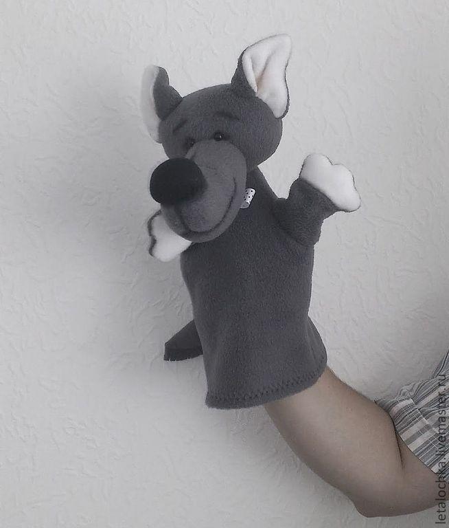 Перчаточная кукла своими руками волк 70