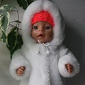 Куклы и игрушки ручной работы. Ярмарка Мастеров - ручная работа Длинная шубка для Беби Борн. Handmade.