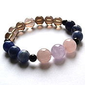 Украшения handmade. Livemaster - original item Women`s bracelet talisman made of natural stones. Handmade.