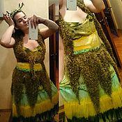 Одежда ручной работы. Ярмарка Мастеров - ручная работа Комплект лесной феи: жилетка и юбка-пояс. Handmade.