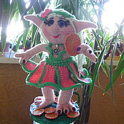 Куклы и игрушки ручной работы. Ярмарка Мастеров - ручная работа Эльфийка Дина. Handmade.