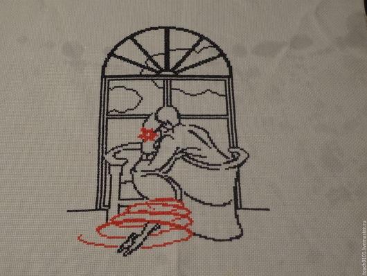 Люди, ручной работы. Ярмарка Мастеров - ручная работа. Купить У окна. Handmade. Разноцветный, взаимная любовь