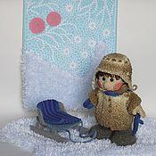 Куклы и игрушки ручной работы. Ярмарка Мастеров - ручная работа Кукла Снегири. Handmade.