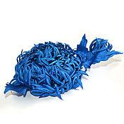 Украшения ручной работы. Ярмарка Мастеров - ручная работа Брошь цветок. Стилизованная хризантема. 11см. Цветы из ткани. Handmade.