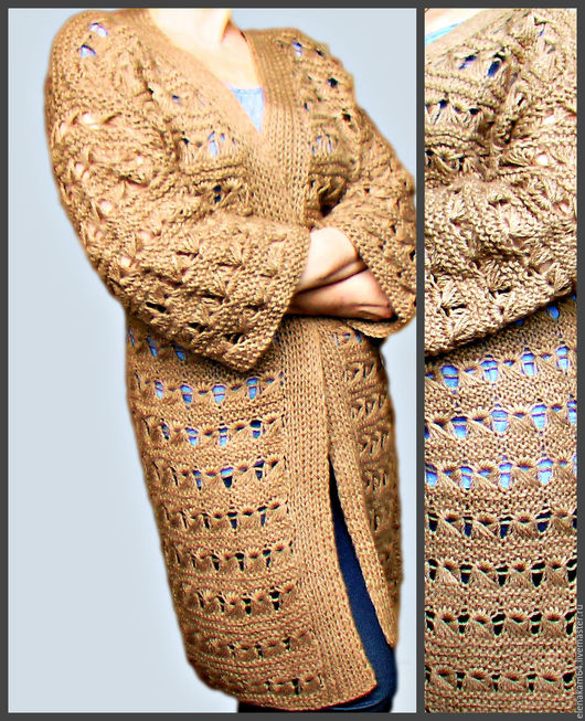 Кофты и свитера ручной работы. Ярмарка Мастеров - ручная работа. Купить вязаный кардиган. Handmade. Вязаный кардиган, кардиган женский