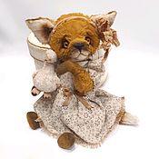 """Мишки Тедди ручной работы. Ярмарка Мастеров - ручная работа Лиса Тедди """"Алиса"""". Handmade."""