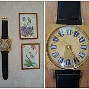 """Винтаж ручной работы. Ярмарка Мастеров - ручная работа Винтажные настенные часы """"Ретро"""", Германия, 1980-е гг,. Handmade."""