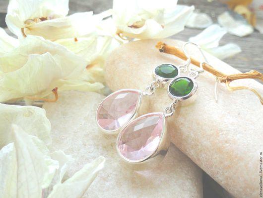 весенние серьги двойные серебро зеленый розовый весенние серьги двойные серебро зеленый розовый весенние серьги двойные серебро зеленый розовый весенние серьги двойные серебро зеленый розовый