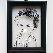 """Картины и панно ручной работы. Ярмарка Мастеров - ручная работа Рамка """"Одуванчик"""". Handmade."""