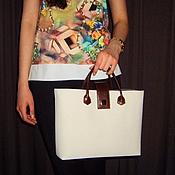 Сумки и аксессуары handmade. Livemaster - original item Women`s handbag made of Italian leather. 2. Handmade.