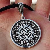 Украшения handmade. Livemaster - original item Amulet Fern Flower (Perun Color). Silver 925 art.1012003. Handmade.