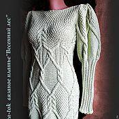 """Одежда ручной работы. Ярмарка Мастеров - ручная работа Платье -туника """"Светлый лес"""" авторская модель.. Handmade."""