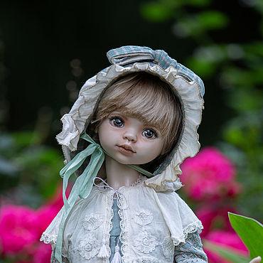 Куклы и игрушки ручной работы. Ярмарка Мастеров - ручная работа Фарфоровая шарнирная кукла №4. Handmade.