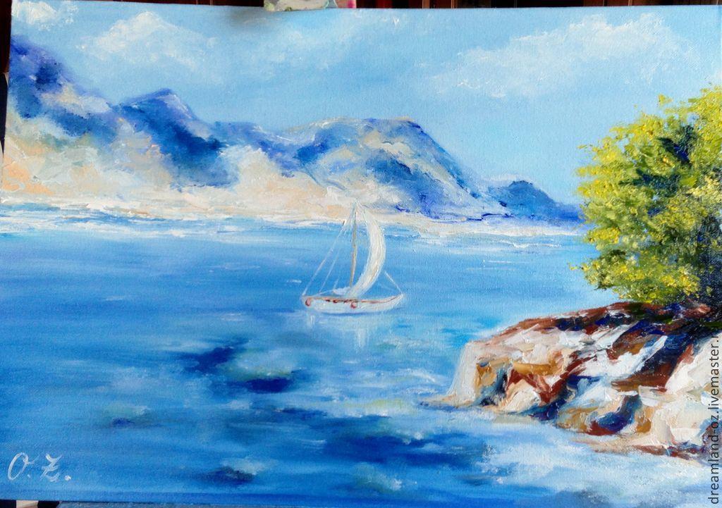 Landscape oil painting 'Aqua dream', Pictures, Vladivostok,  Фото №1