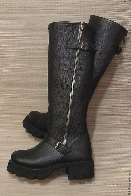 Обувь ручной работы. Ярмарка Мастеров - ручная работа. Купить сапоги женские RAID. Handmade. Коричневый, кожа натуральная