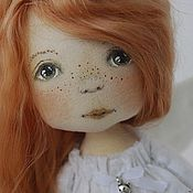 Куклы и игрушки ручной работы. Ярмарка Мастеров - ручная работа Рыжий Ангелочек. Handmade.