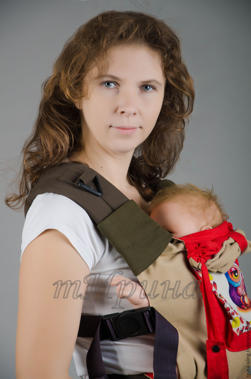 Накладки на лямки эргономичного рюкзака или фаст-слинга, Слинги, Краснодар,  Фото №1