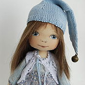 Куклы и игрушки ручной работы. Ярмарка Мастеров - ручная работа Девочка с птичками. Handmade.