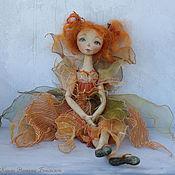 Куклы и игрушки ручной работы. Ярмарка Мастеров - ручная работа Фея в осенних тонах... Handmade.