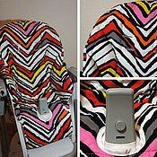 Для дома и интерьера ручной работы. Ярмарка Мастеров - ручная работа Peg-perego Siesta чехол на стульчик для кормления. Handmade.
