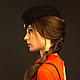 Шляпы ручной работы. Пилотка с отворотом. Ellen Timoshenko (exist). Интернет-магазин Ярмарка Мастеров. Пилотка, шляпа, шляпка женская